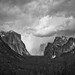 Spring Storm Arriving in Yosemite Valley by Jeffrey Sullivan