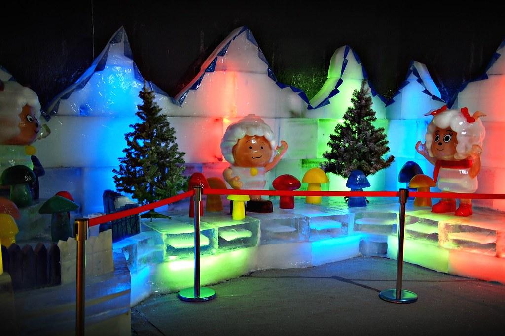 台中高鐵-2015正宗哈爾濱冰冰燈冰雕展-15
