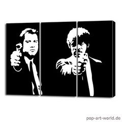 pulp fiction vincent & jules Pop ART