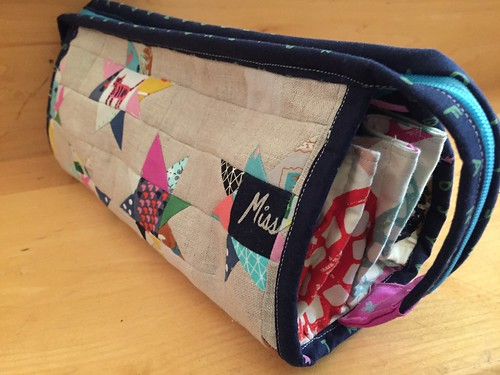 Sew together bag made with Cotton and Steel