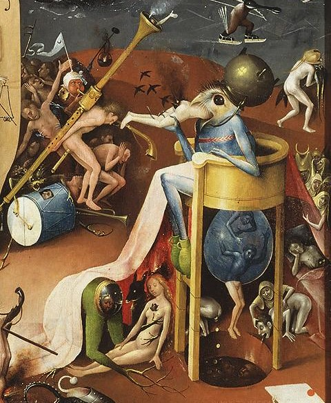 The Garden of Earthly Delights by Hieronymus Bosch (Detail 2)