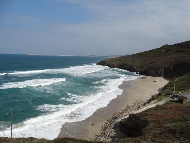 Playa de Combouzas en Arteixo