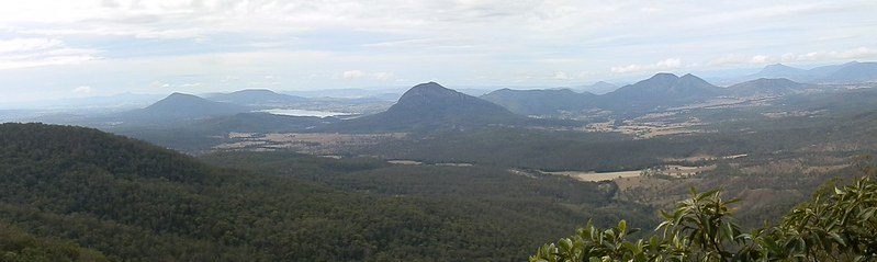 View from Governors Chair, Scenic Rim