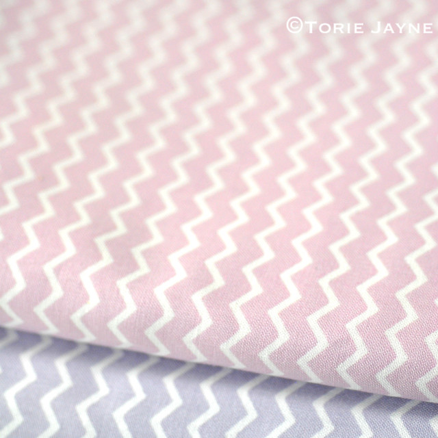 Chevron Fabrics from Gütermann
