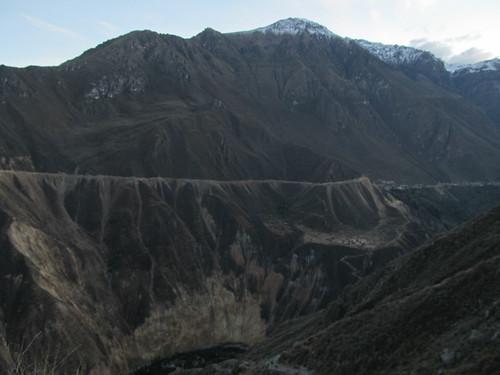 Trek du Cañon de Colca: c'est de là en-bas que nous venons...