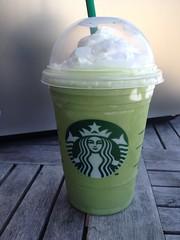 Green tea frappuchino
