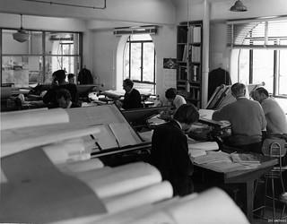 Architect & Design Department offices, 1971