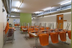 restaurant(0.0), classroom(0.0), auditorium(0.0), conference hall(0.0), convention center(0.0), waiting room(0.0), building(1.0), room(1.0), interior design(1.0), cafeteria(1.0),