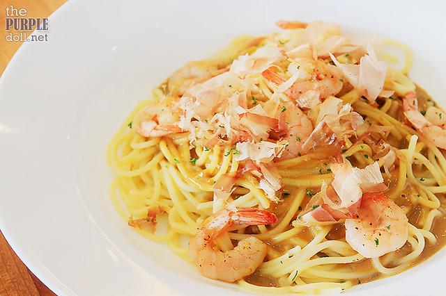 Uni and Shrimp Pasta (P350)