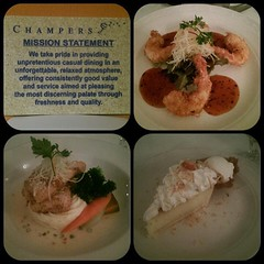 Day 324 - Best and last dinner in Barbados, terrible name but the view, food and service was amazing #365grateful #day324