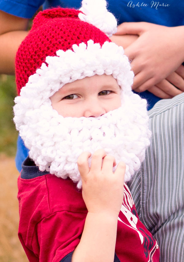 from baby to adult get any size you want for these adorable bearded santa crochet pattern