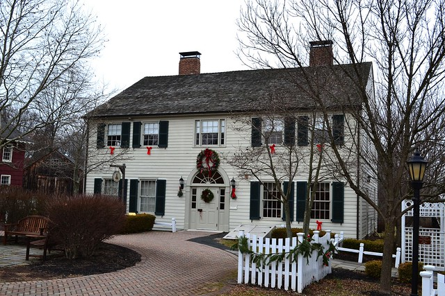 Indian Queen Tavern--built 1729--Old Towne-Piscataway, NJ
