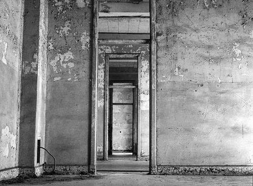 Abandoned Hospital at Fort McDowell
