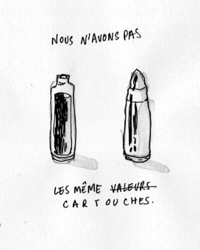 Nous sommes Charlie, par Margaux Sourisseau - Les étudiants du CESAN rendent hommage