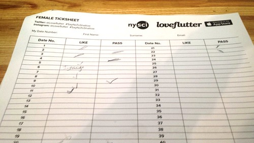 Female Score Sheet