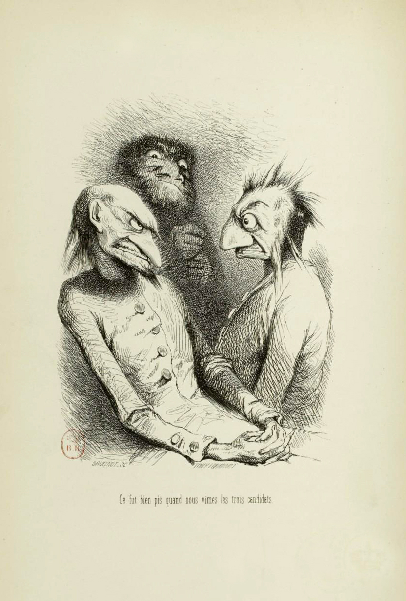 "Tony Johannot - Illustration for ""Voyage où il vous plaira"" by Musset and Stahl (1843) 6"