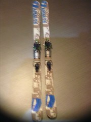 telemark set - lyže armada + pásy G3 - titulní fotka