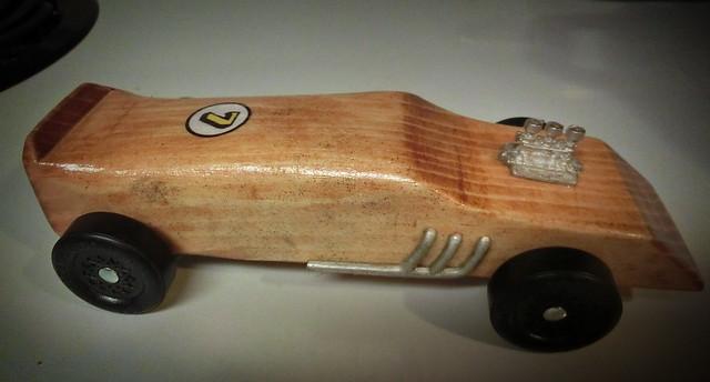 Pinewood Car