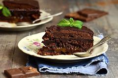 Chocolate cake ''Sacher''.