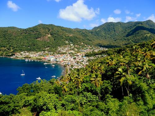 caribbean stlucia westindies soufriére