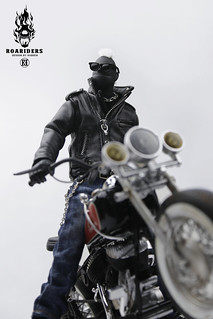 【玩具人'Hidden'投稿】設計師Hidden首款Riders系列figure Hunter