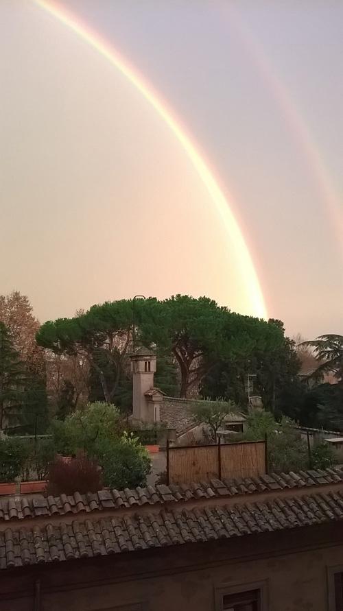 Rome rainbow