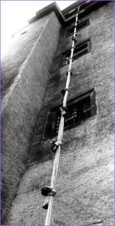 Cuerda utilizada en el intento de fuga de Colditz