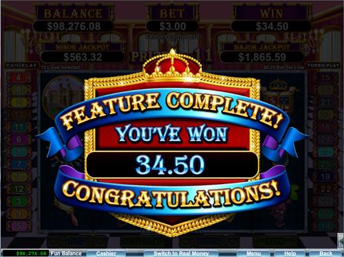 Regal Riches Win