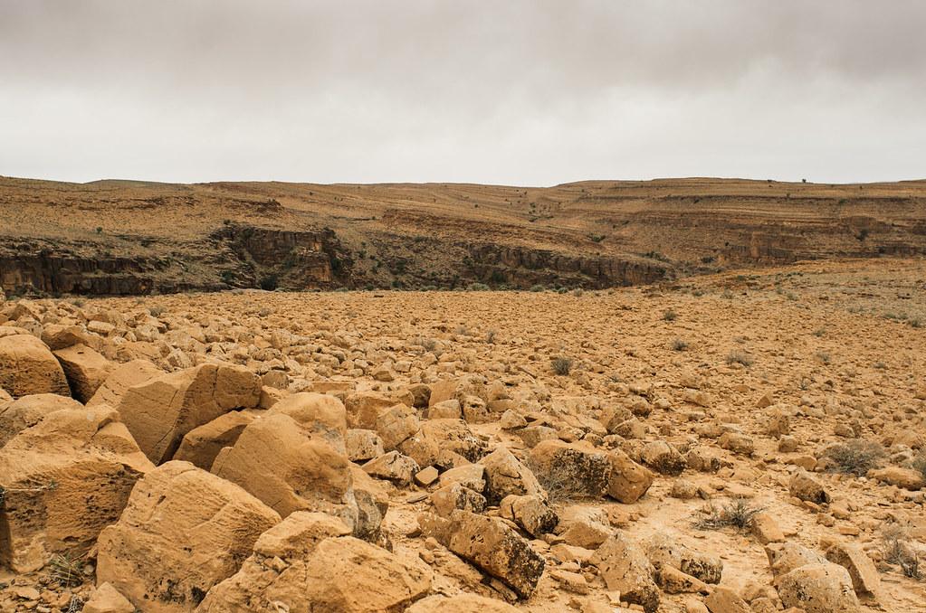 Trek sans guide au Maroc - 5 jours dans l'anti-Atlas - Le reg