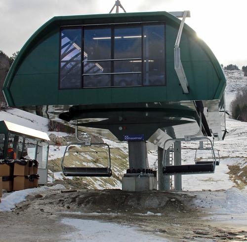 New lift at Ragged Mt.