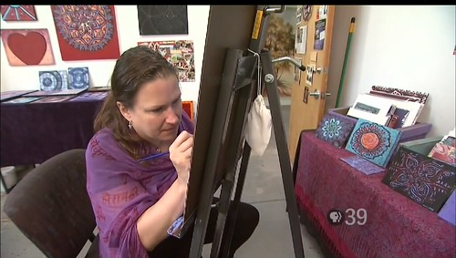 PBS39 Interviews Stephanie Smith Mandala Artist: Spirit of Art