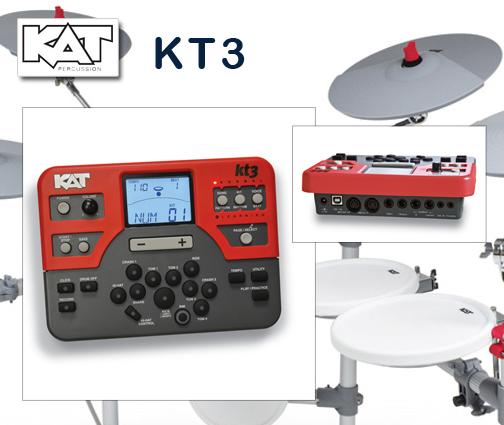 kat percussion modelo kt3 modulo