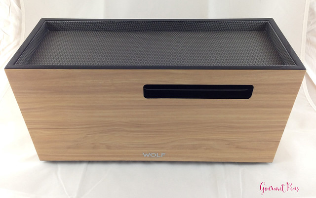 Review Wolf Designs Meridian Two Drawer Valet, Charging Station & Pen Box @Wolf1834 @Massdrop (5)