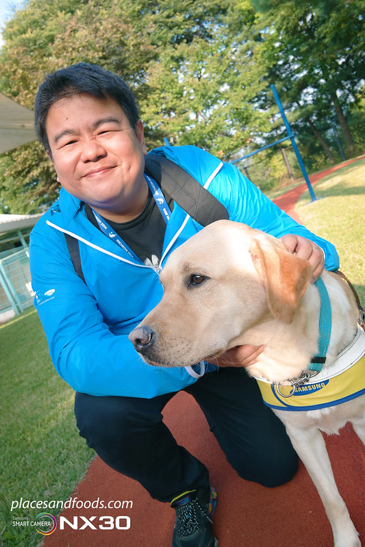 samsung guide dog school wilson ng