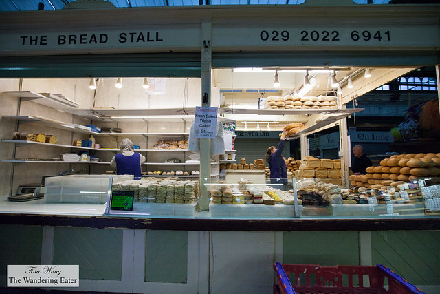 The Bread Stall at Cardiff Market