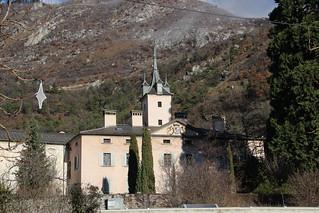 Bild von Schloss Leuk. leuk loèche schlosszenruffinen
