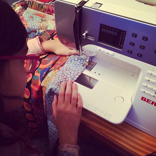 Little one is helping me:) La piccola mi sta aiutando:)