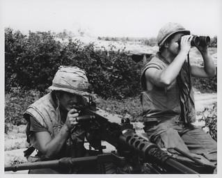Sniper Team, 3d Battalion, 7th Marines, 25 February 1967