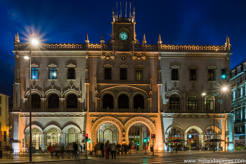 Estación de trenes do Rossio