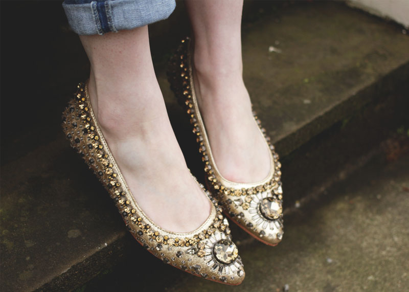 boden sparkly flats, Bumpkin Betty