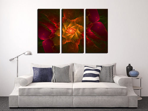 High Quality Flowers Wall Art Home Decoration