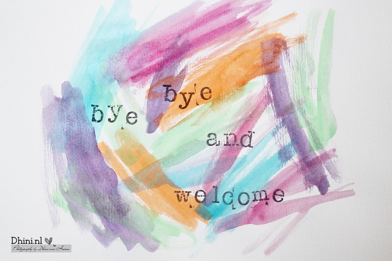 Bye bye and welcome