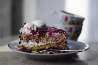 Good morning! (cherry jam pie)