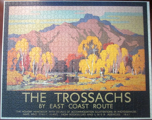 jigsaw puzzle of The Trossachs