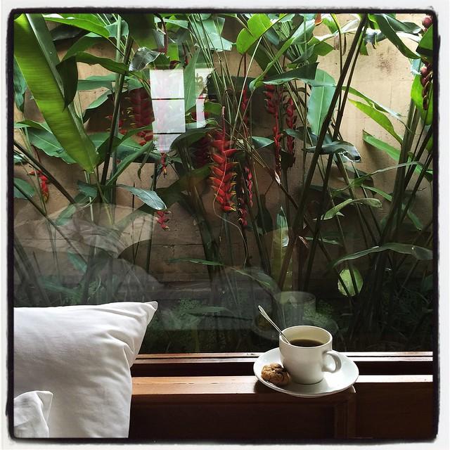 Morning Coffee at Amandari