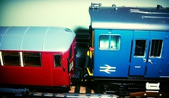 London trains in oo guage.
