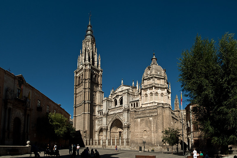 Main facade of Cathedral of Toledo
