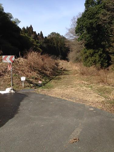 松尾寺へ近道