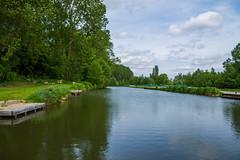Canal de la somme - Photo of Montigny-sur-l'Hallue