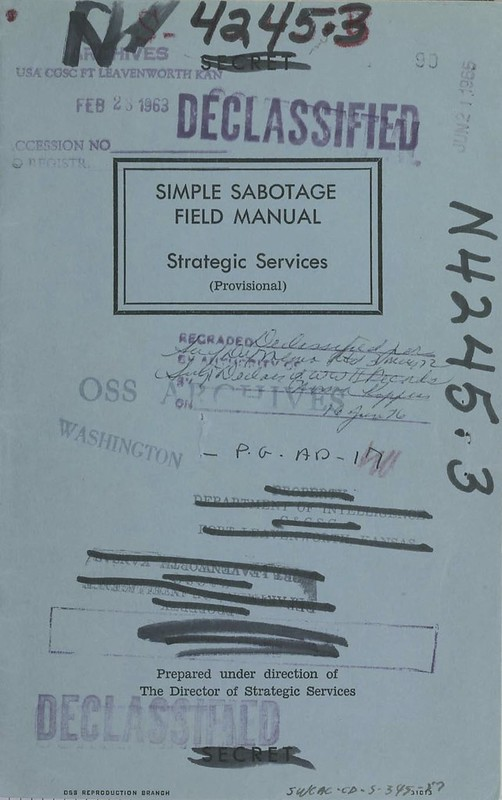 OSS_Simple_Sabotage_Field_Manual